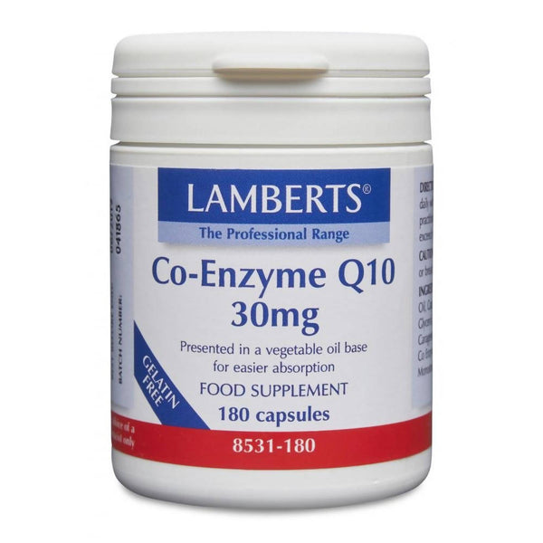 Lamberts Co-enzyme Q10, Capsules 30mg