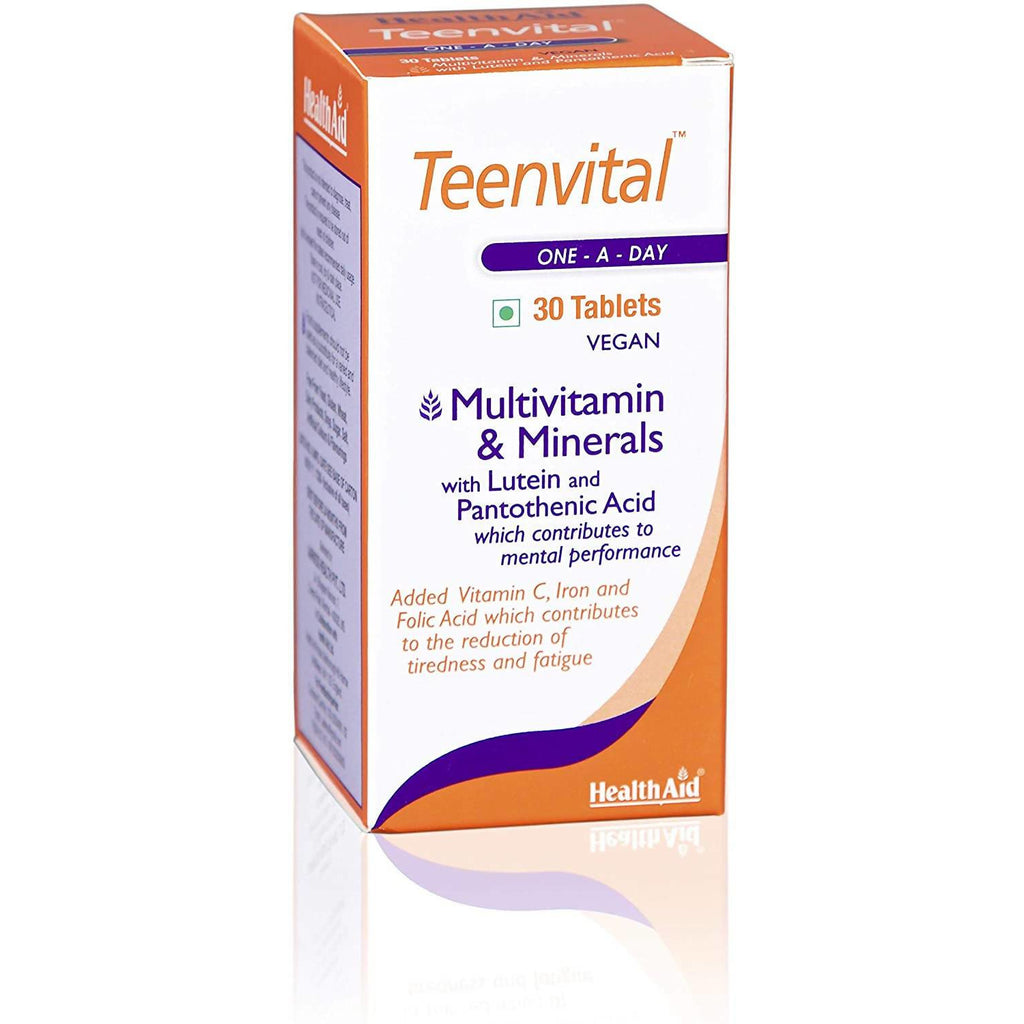 Health Aid Teenvital, Tablets, 30