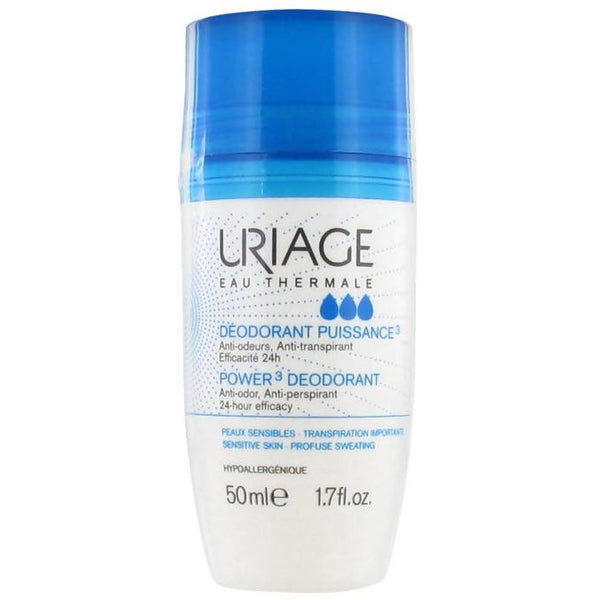 Uriage Deodorant, Roll-on, 50ml