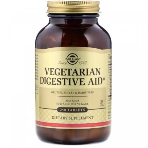 Solgar Vegan Digestive Enzymes, Tablets, 50, Food Supplement
