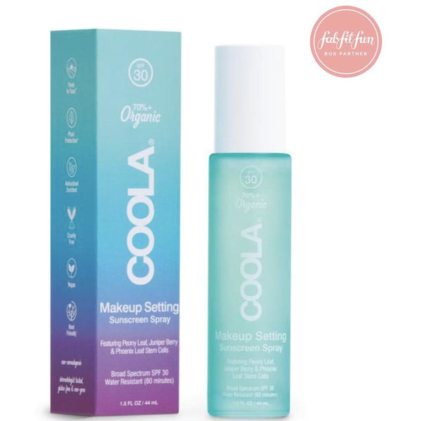 COOLA Makeup Setting Sunscreen Spray SPF30