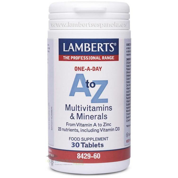 Lamberts A To Z, Tablets, 30