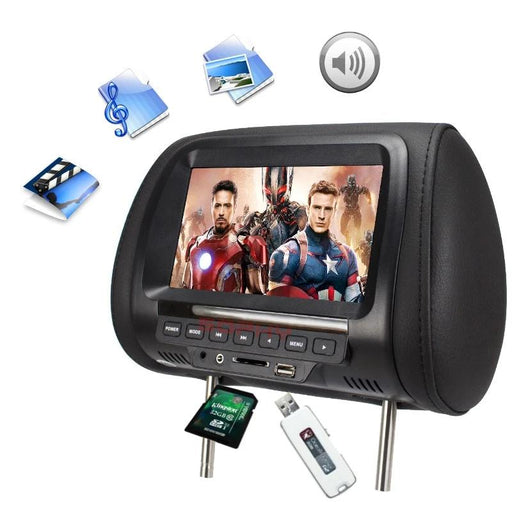 Universal 7 inch Car Headrest Monitor - Go Gadget Tools