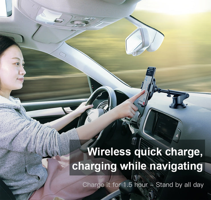 2 in1 Wireless Car Charger - Let's go gadget2020