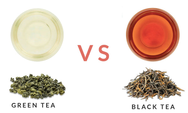 Difference Between Green Tea And Black Tea