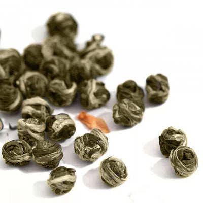 Organic Jasmine Green Tea Dragon Pearls