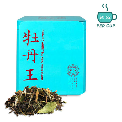 KING WHITE PEONY - Premium Organic White Tea