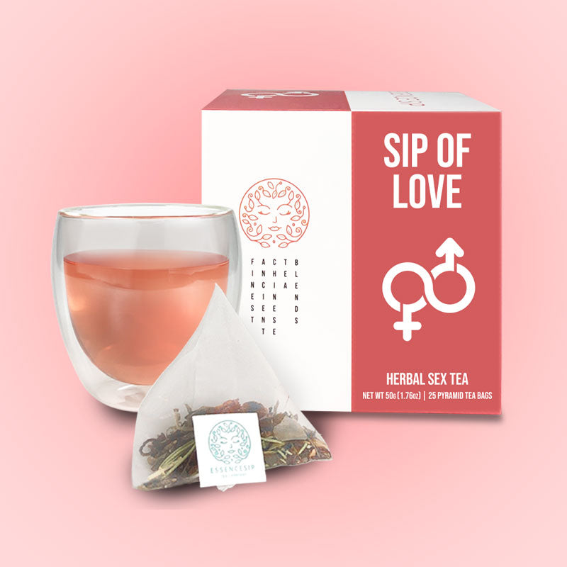 SIP OF LOVEⓇ Herbal Sex Tea