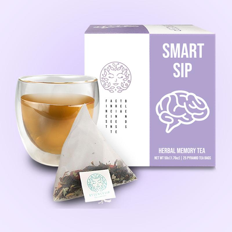 SMART SIPⓇ Herbal Memory Tea for Focus