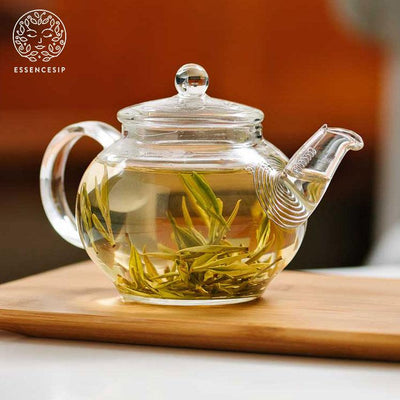 Organic Green Tea Gem Ziran Premium Chinese Loose Leaf Brew