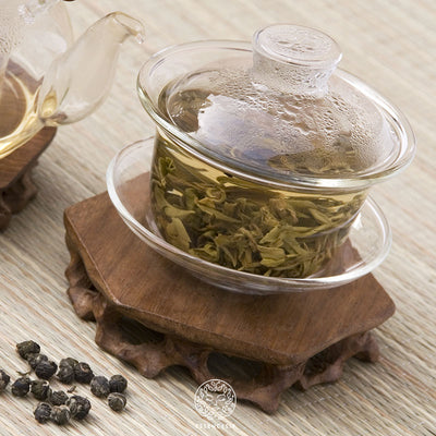JASMINE DRAGON PEARLS - Premium Organic Jasmine Green Tea