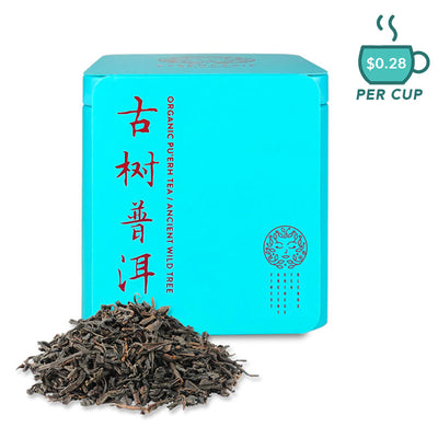 Premium Organic Puer Tea Ancient Wild Tea from Essencesip Tea Co.