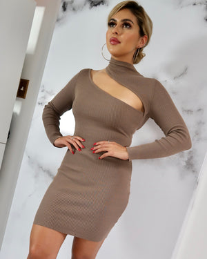 Mrs. Brown Sweater Dress