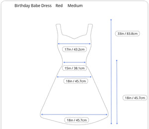 Birthday Babe Dress