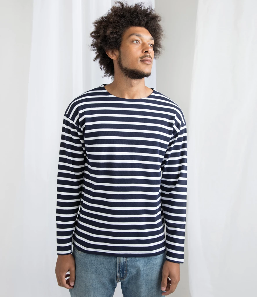 Camiseta marinera Breton Top Unisex