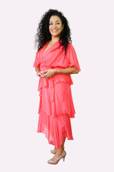 25 Inch Crop Pant 66839UP - Boca Blue Bottoms Up! Pants
