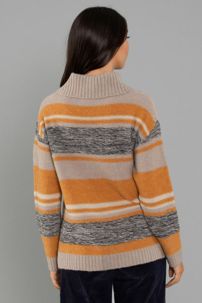 Abby Scallop Knit - Khaki Knits Dref by D