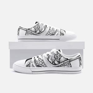 """City Park"" by Zelley – Low Top Canvas (Men/Women)"