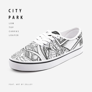 """City Park"" by Zelley – Low Cut Canvas Loafer (Men/Women)"