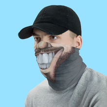"Load image into Gallery viewer, Keep Smiling ""Beard"" – Mask / Neck Gaiter"