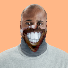 "Load image into Gallery viewer, Keep Smiling ""Horseshoe"" – Mask / Neck Gaiter"
