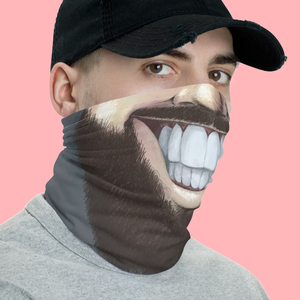 "Keep Smiling ""Lumberjack"" – Mask / Neck Gaiter"