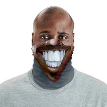 "Load image into Gallery viewer, Keep Smiling ""Stache"" – Mask / Neck Gaiter"