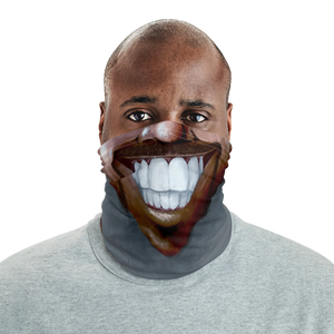 "Keep Smiling ""Horseshoe"" – Mask / Neck Gaiter"