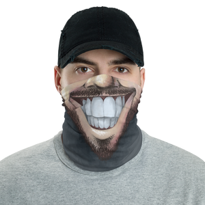 "Keep Smiling ""Beard"" – Mask / Neck Gaiter"
