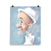 Load image into Gallery viewer, White Hat by Zelley – Poster