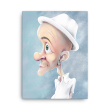 Load image into Gallery viewer, White Hat by Zelley – Canvas