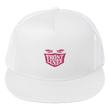 Load image into Gallery viewer, FrontLiner Pink Logo Cap