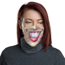 "Load image into Gallery viewer, Keep Smiling ""Red"" – Mask / Neck Gaiter"
