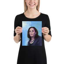 "Load image into Gallery viewer, ""Kamala Harris: Fearless"" Poster"