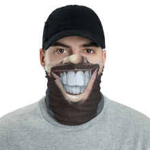"Load image into Gallery viewer, Keep Smiling ""Lumberjack"" – Mask / Neck Gaiter"