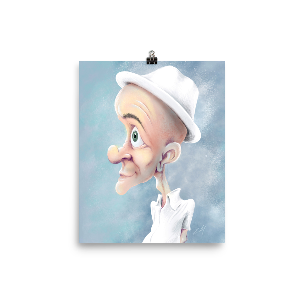 White Hat by Zelley – Poster