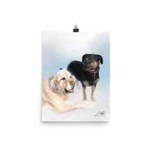Load image into Gallery viewer, Baz and Beebee by Zelley – Poster
