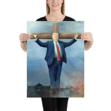 "Load image into Gallery viewer, ""He Is Risen From His Bunker"" Poster"