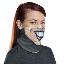 "Load image into Gallery viewer, Keep Smiling ""Goth"" – Mask / Neck Gaiter"