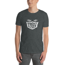 Load image into Gallery viewer, FrontLiner T-Shirt White Logo