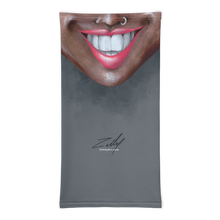 "Load image into Gallery viewer, Keep Smiling ""Nose Ring"" – Mask / Neck Gaiter"