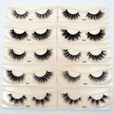 Visofree Eyelashes 3D Mink Lashes for makeup E01