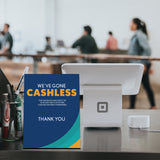 Cashless Payment Standee