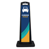 "Curbside Pickup Quick Deploy Parking Space ""Car"" Decal w/ Stand"