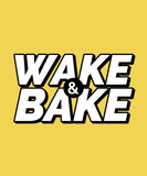 WAKE & BAKE-Graphic T-shirt