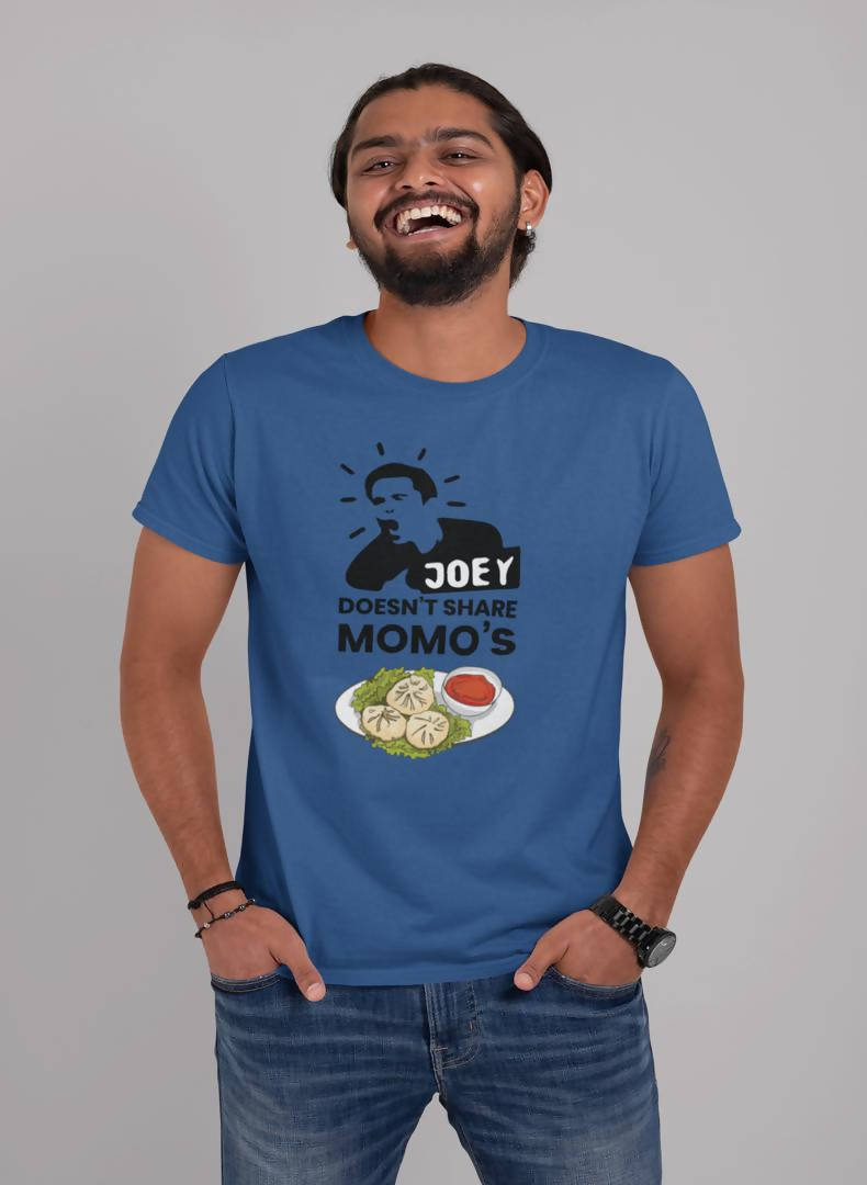 Joey Doesn't Share Momo's Printed T-shirt -Delhi Craving