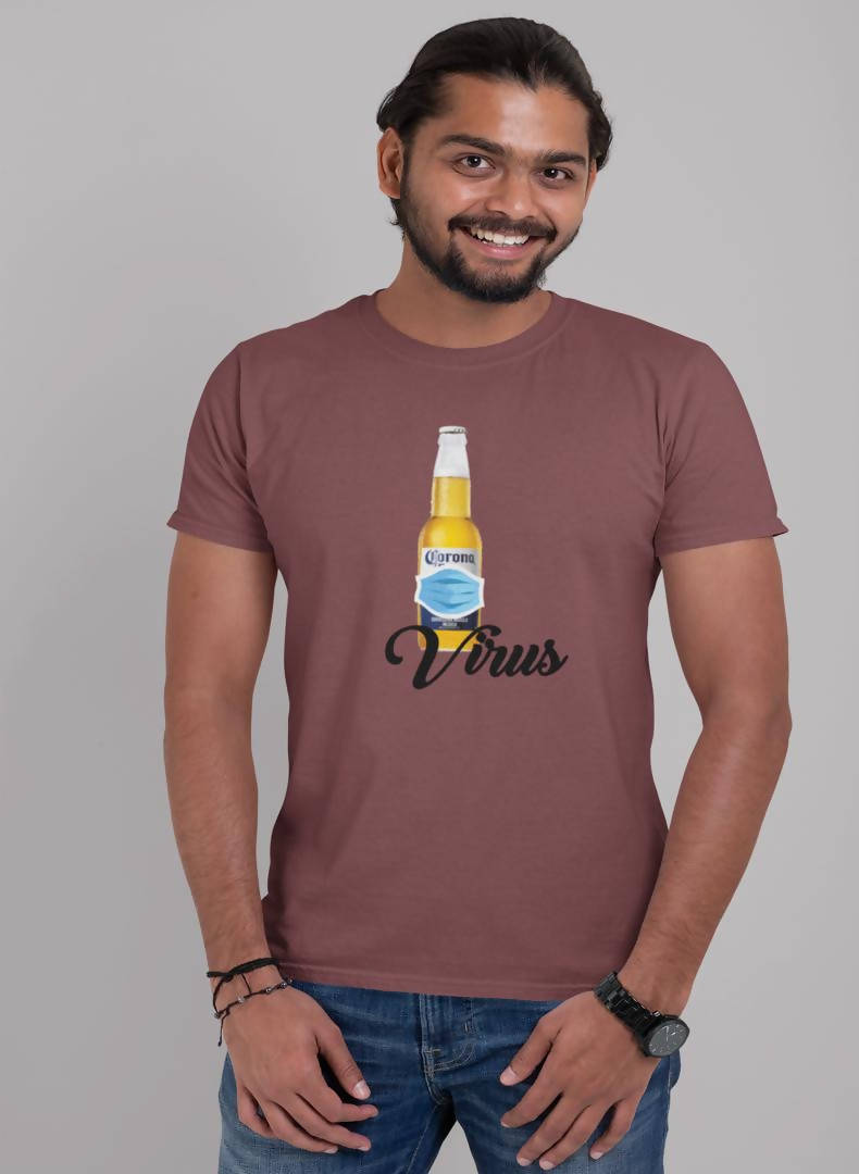 Virus Printed T-shirt -Delhi Craving