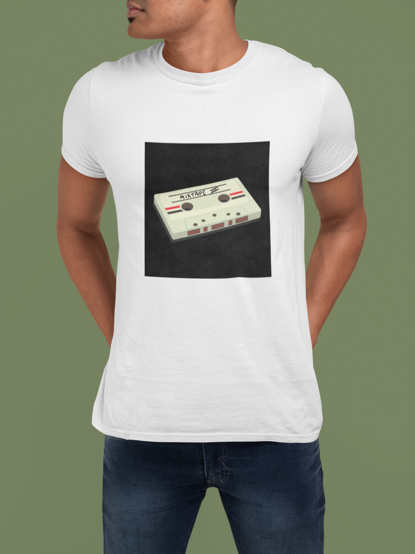MIXTUPE-Graphic T-shirt
