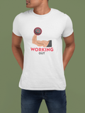 WORKING OUT-Graphic T-shirt