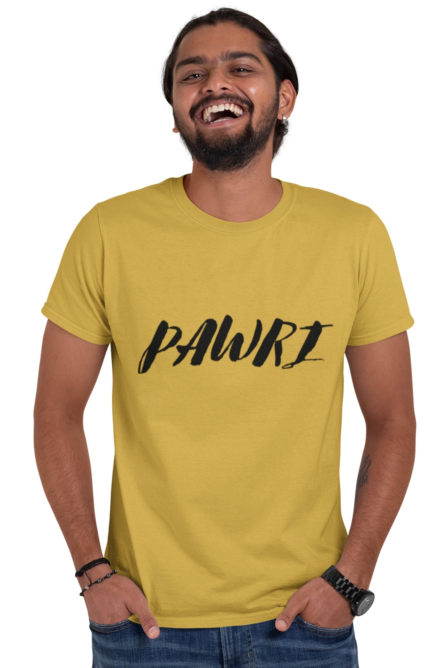 Mens Pawri Printed T-shirt